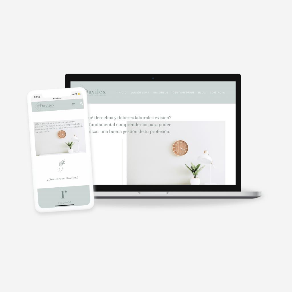 Diseño web para consultoría